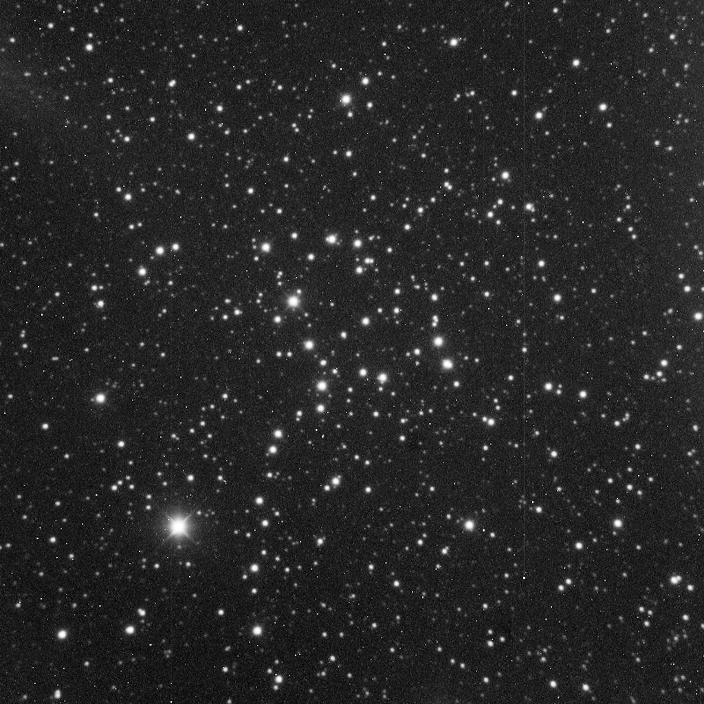 NGC 1664 aufgenommen mit einem Takahashi Mewlon 300 Teleskop und einer SBIG ST-1000 CCD Kamera.