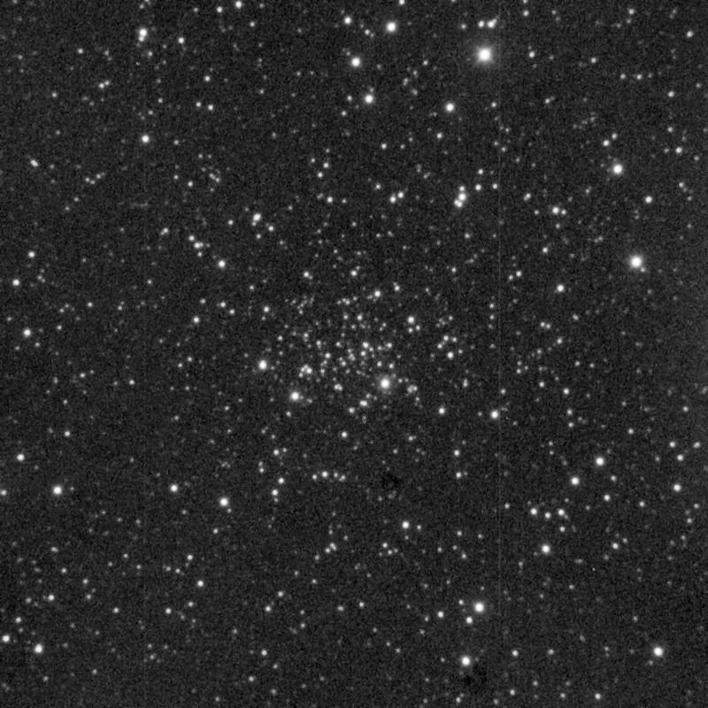 NGC 1798 aufgenommen mit einem Takahashi Mewlon 300 Teleskop und einer SBIG ST-1000 CCD Kamera.